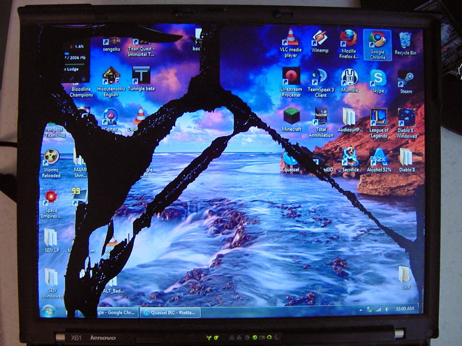 tech profis display defekt notebook bildschirm reparatur austausch hintergrundbeleuchtung. Black Bedroom Furniture Sets. Home Design Ideas