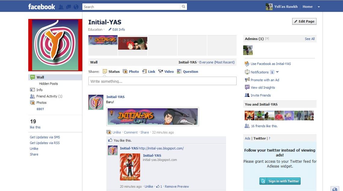 Cara Membuat Facebook Page Fan