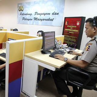 Call Center 110 polri