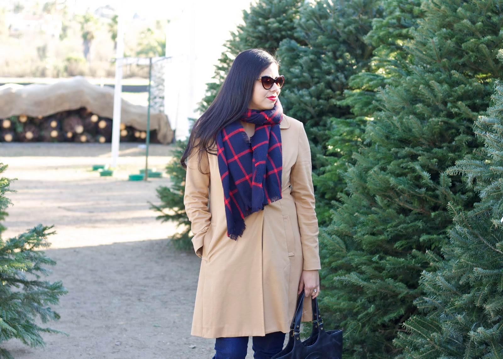Cabi blogger, cabi casablanca trench, tan coat, great coats under $200