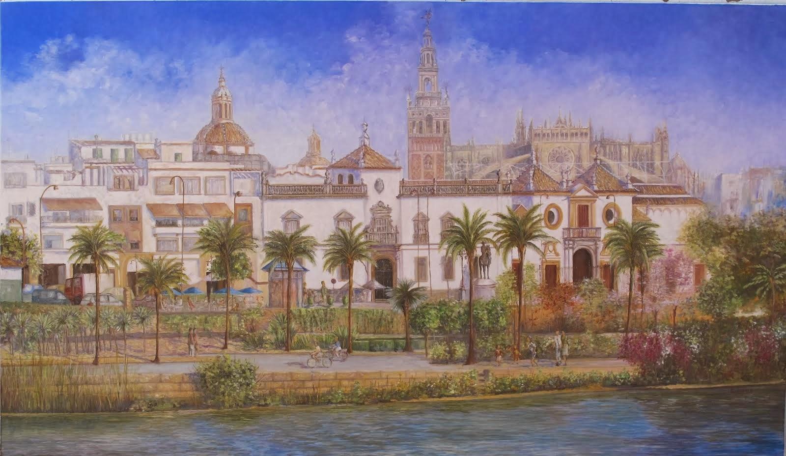 Sevilla. Vista desde Triana