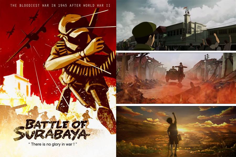 Film Animasi Battle of Surabaya
