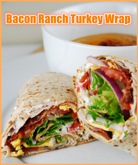 Bacon Ranch Turkey Wrap
