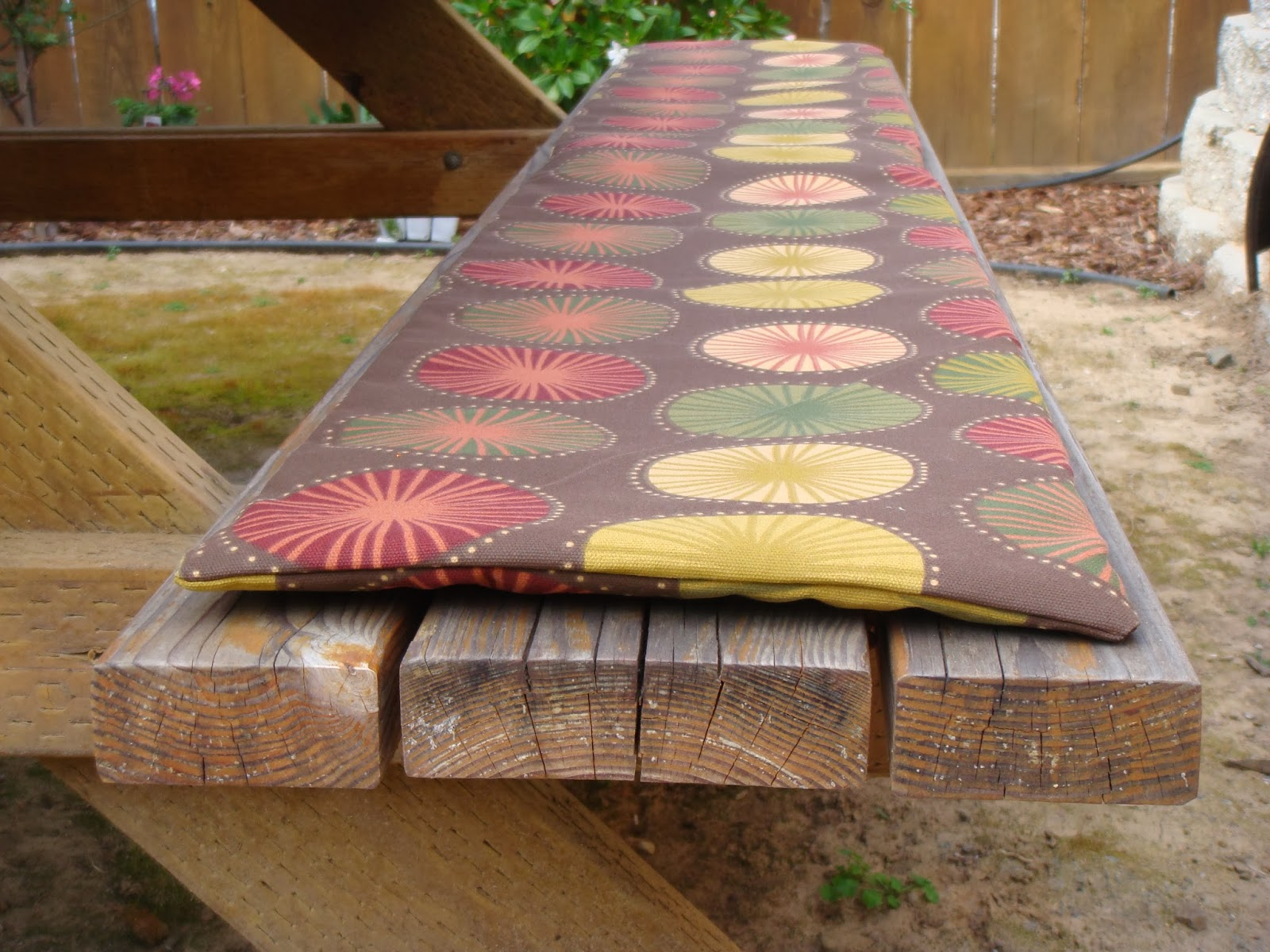 Generation Sue Picnic Bench Seat Cover A Tutorial