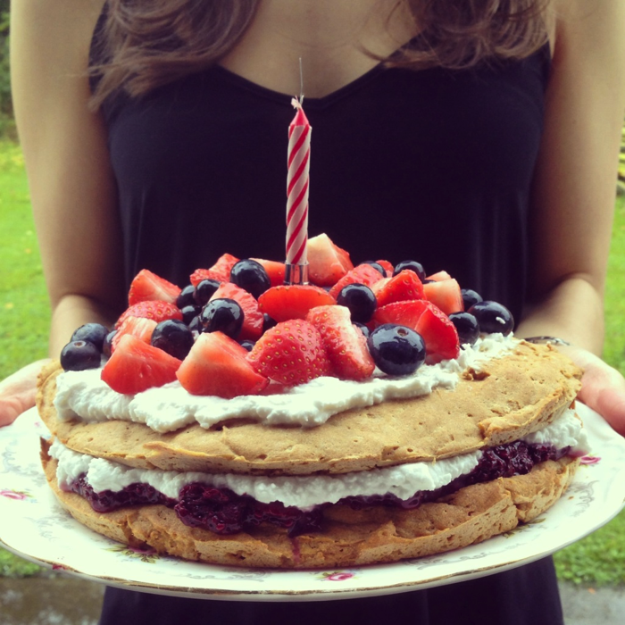 Skinny Sweets And Treats: Vegan Birthday Cake: Guest Post