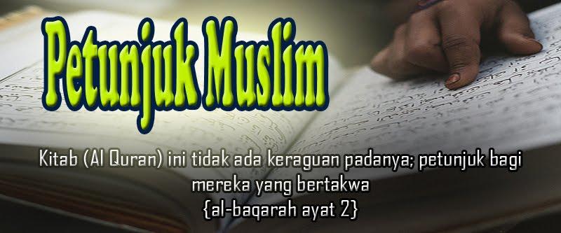 Petunjuk Muslim