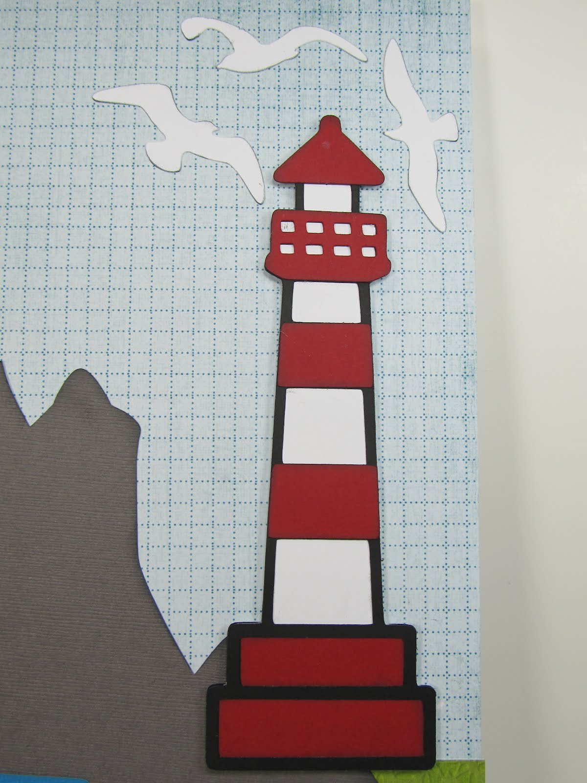 Lighthouse Scrapbook Paper