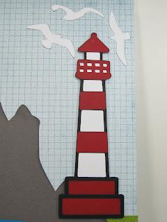 Creative cricut designs more hawaii lighthouse for Waterfall design in scrapbook