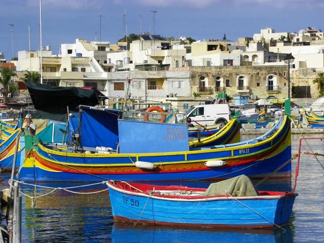 Pueblo pesquero de Marsaxlokk
