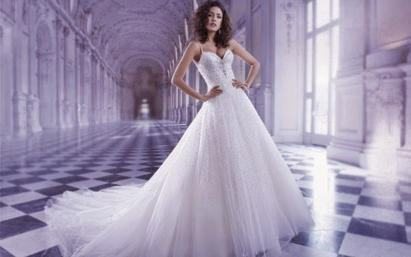 Romantic Wedding Dresses by Demetrios Couture 6