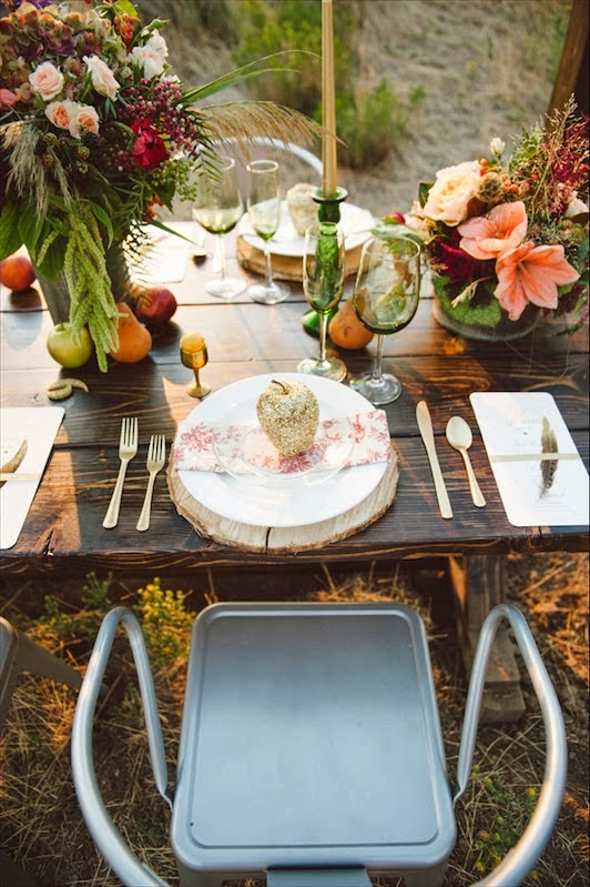 como vestir una mesa de boda