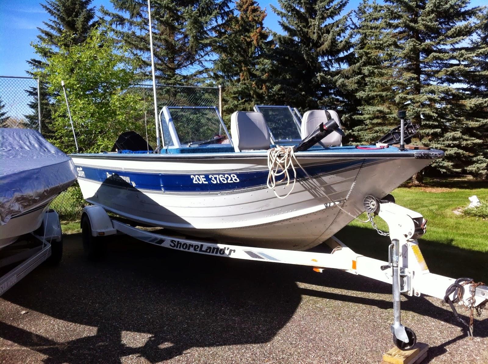 21ft sylvan deep fishingboat for Sylvan fishing boats