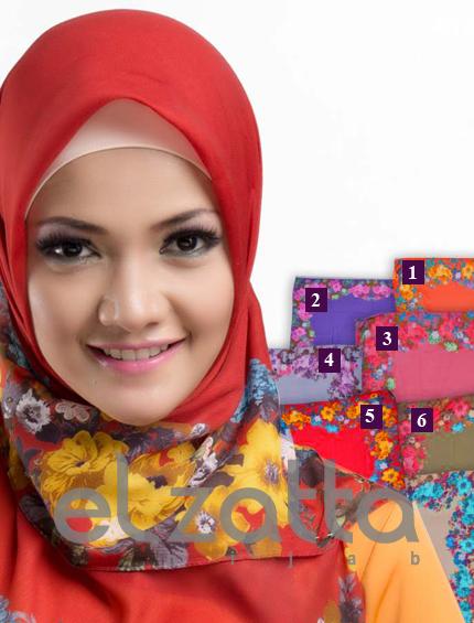 Jilbab Segi Empat Elzatta Kaila Lafaya Busana Pakaian Terbaru