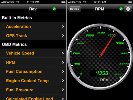 REV para iPhone