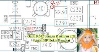 PERBESAR SUARA NOKIA WD21