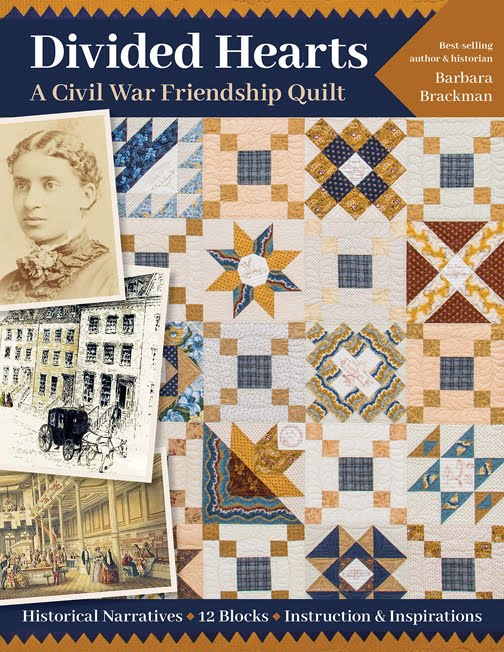 DIVIDED HEARTS: A CIVIL WAR FRIENDSHIP QUILT