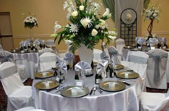 El color plata y sus combinaciones elegante y sorprendente - Decoracion para bodas de plata ...
