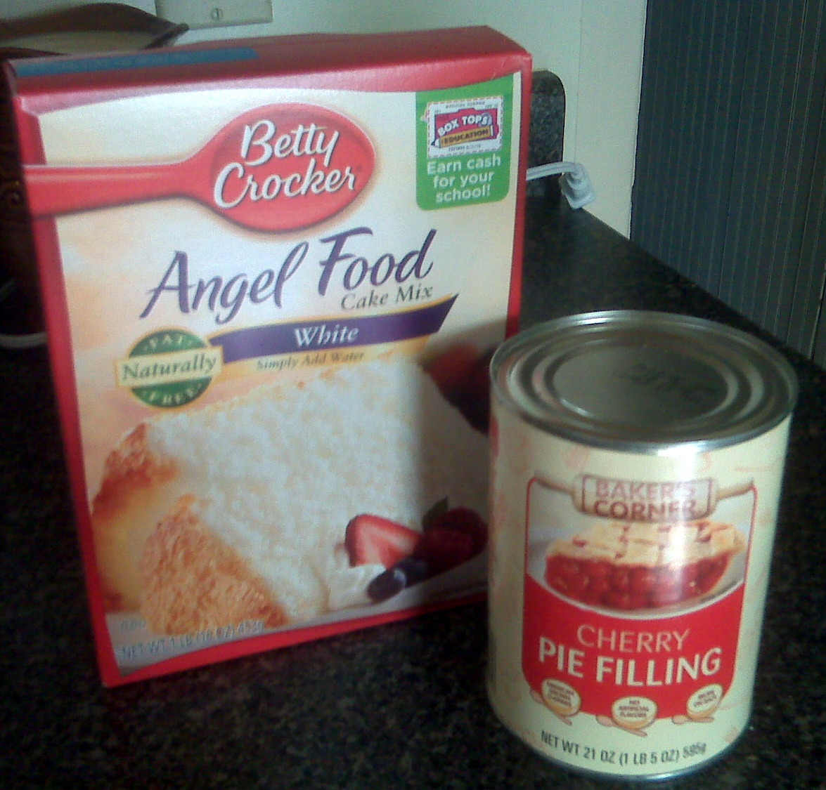 Substitute For Angel Food Cake Mix