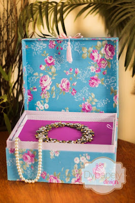 caixa cartonagem porta joia caixa multiuso caixa floral poá caixa bijoux porta bijoux