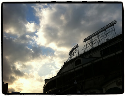 Wrigley Field Silhouette