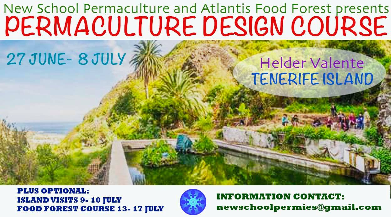 PDC Permaculture Design Course July