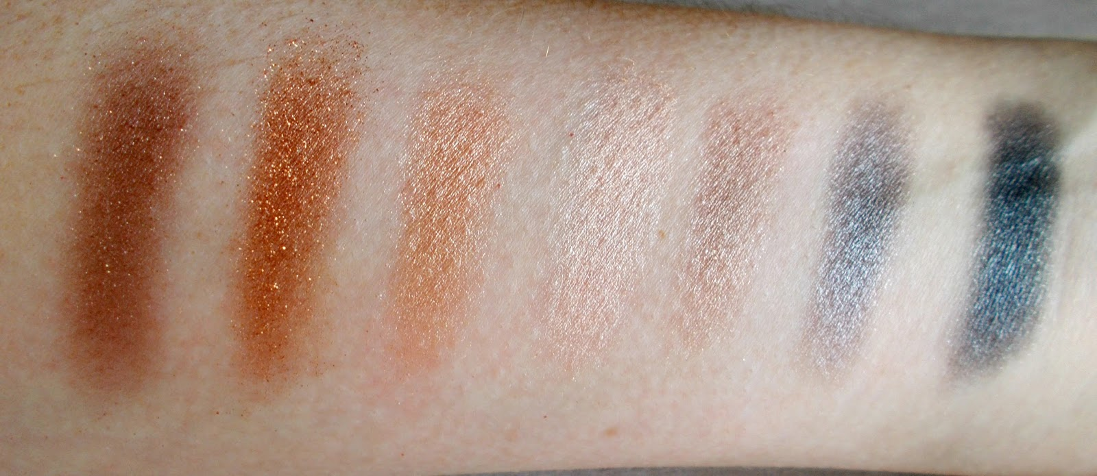 Smashbox full exposure palette top row swatches