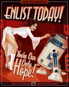 . unas chicas Sexis como ningun poster de pelicula Star Wars te mostro. sexy star wars