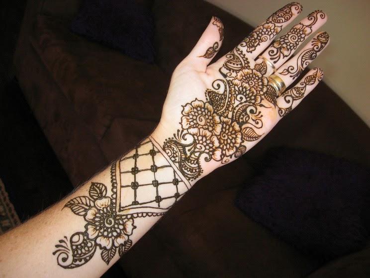 High Quality Mehndi Designs : Simple mehndi designs beauty task