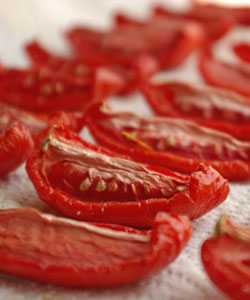 Plantar Tomates- Tomate seco ao sol