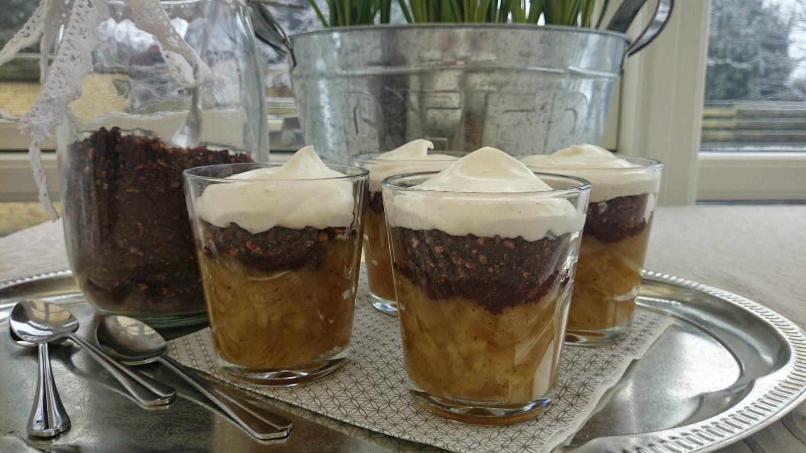 bondepige med slør dessert