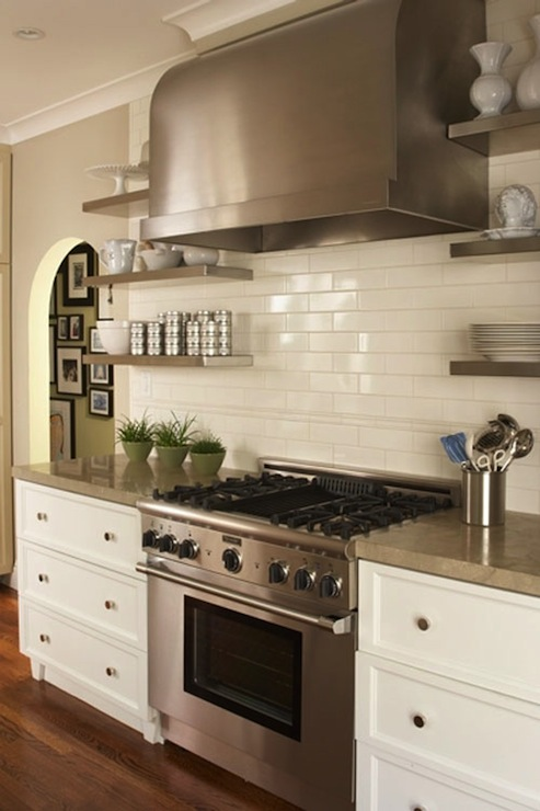 Stainless steel kitchen shelves for Stainless steel drawers kitchen