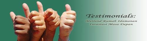 Testimonial Metland Rumah Idaman Investasi Masa Depan