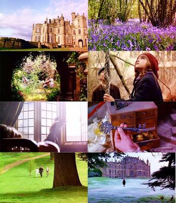 cenas do filme O Jardim Secreto
