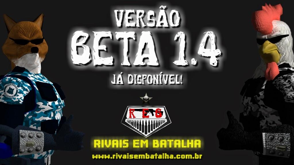 VERSÃO BETA 1.4 DISPONÍVEL PARA DOWNLOAD