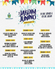 JARDIM DO SERIDÓ-RN:  1º JARDIM JUNINO