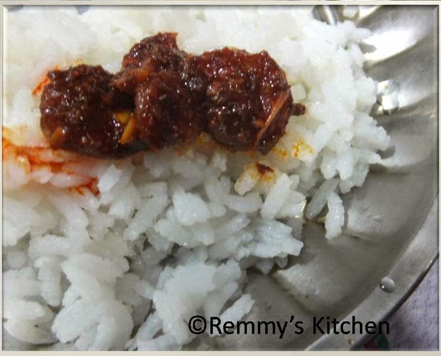 Chemmeen Achar/Prawn Pickle