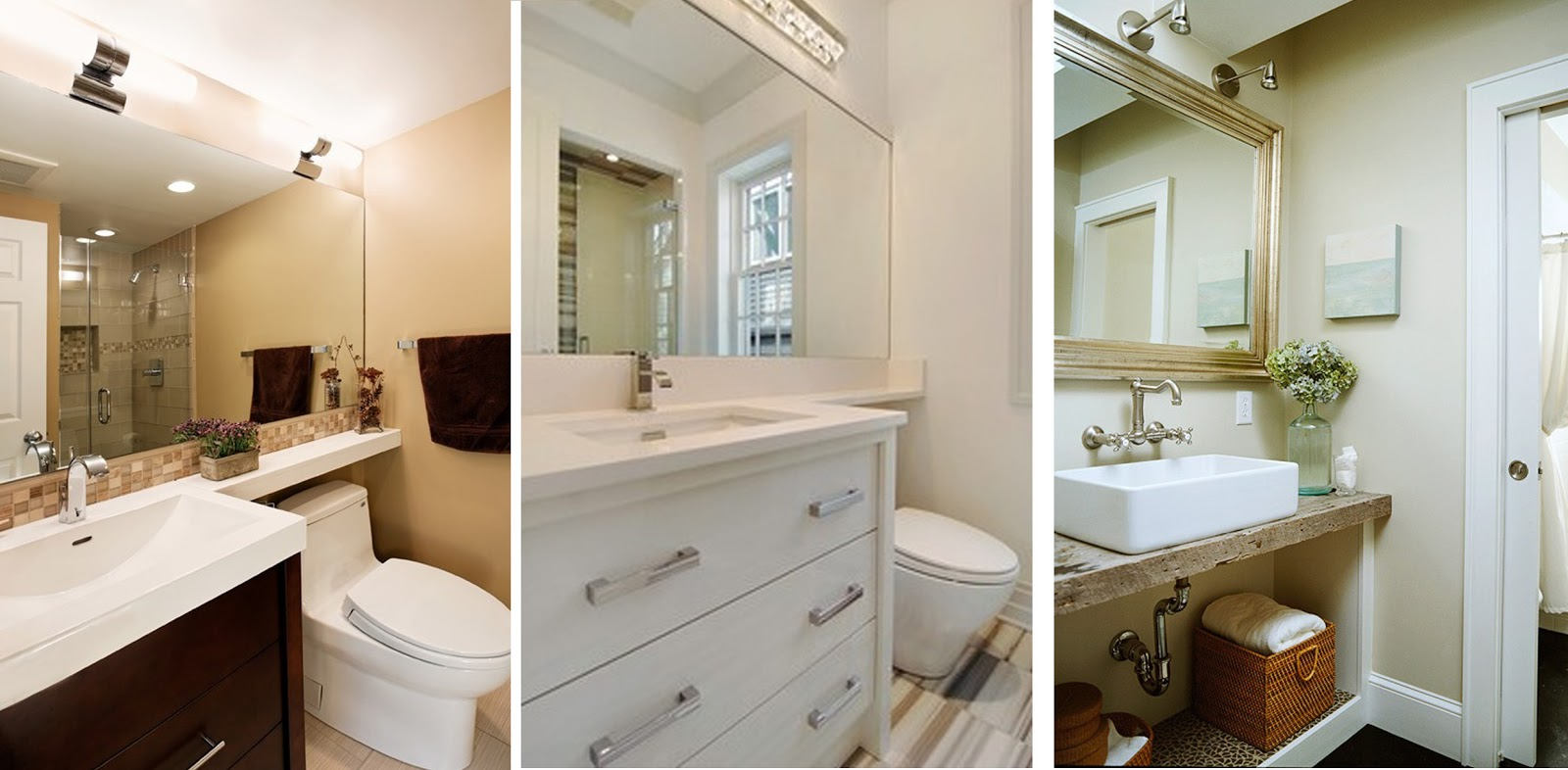 Imagenes De Baños Grandes:Cómo seguro que todos ya sabéis, los espejos amplian los espacios, y