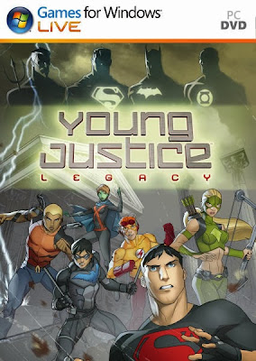 Cover Of Young Justice Legacy Full Latest Version PC Game Free Download Mediafire Links At Downloadingzoo.Com
