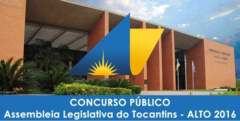 Apostila Assembleia Legislativa do Tocantins AL TO 2016