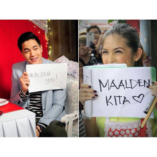 Alden Richards + Yaya Dub = AlDub