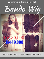 BIG SALE BANDO WIG NAOMI