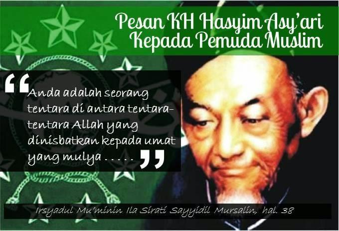 Pesan KH Hasyim Asy'ari