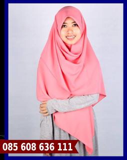Jilbab segi empat grosir murah