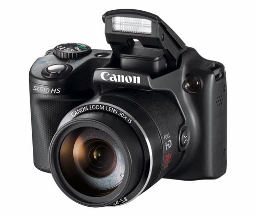 Canon SX510 HS Camera