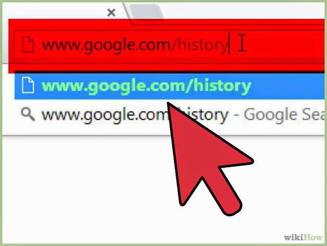 Bagaimana mengelola Google history di Android Anda