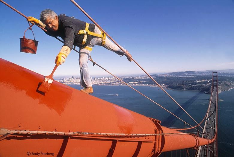Golden Gate Bridge Paint Color