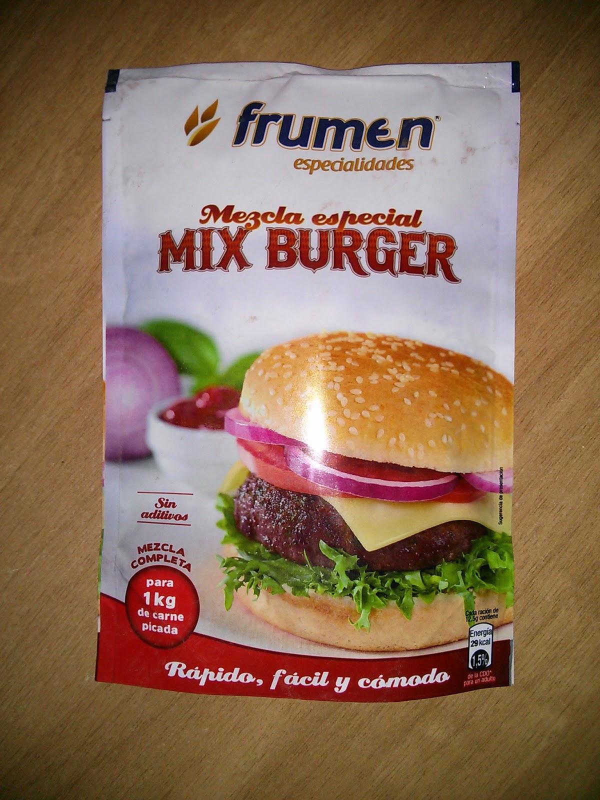mezcla especial Mix Burguer