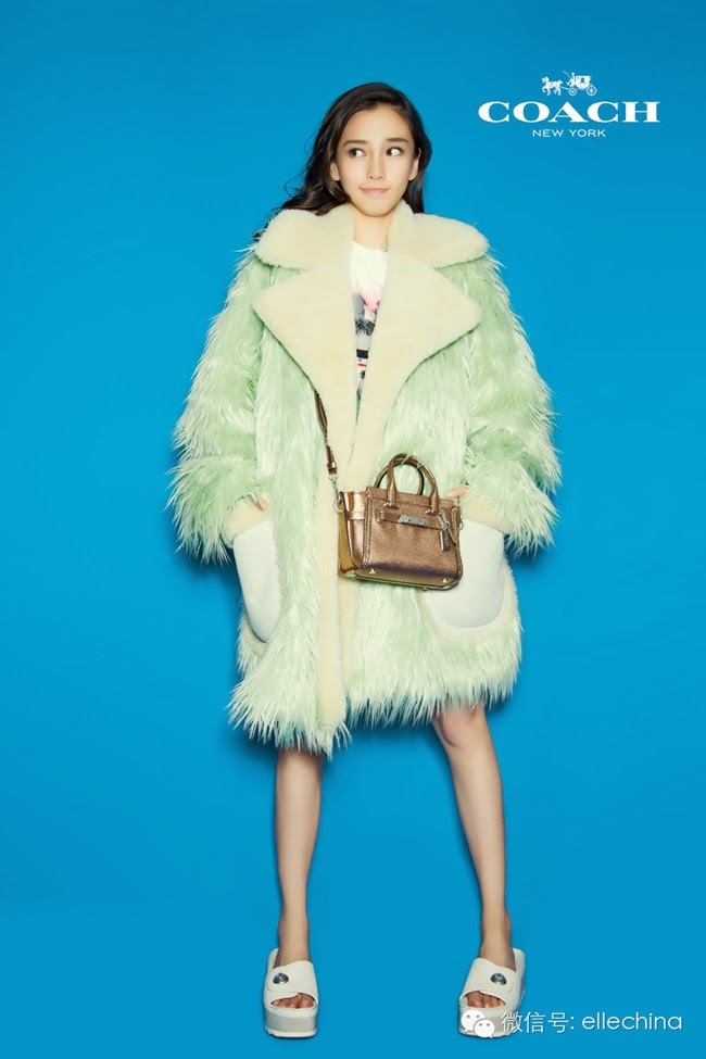 Coach × Gary Baseman 2015 SS Mint Fur Coat Lookbook