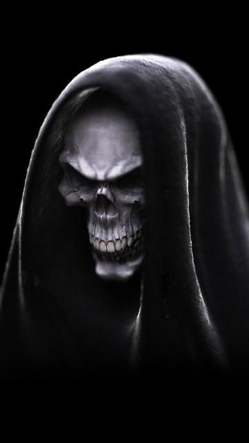 Dark Skull IPhone Wallpaper