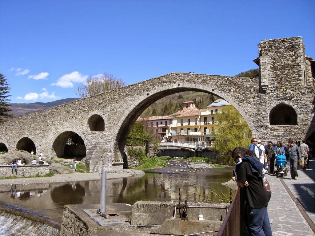 Pont Nou in Camprodon